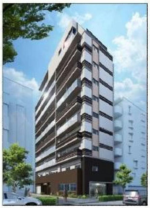 東京メトロ丸ノ内線・新中野駅から徒歩2分、青梅街道に面した新築1階テナント
