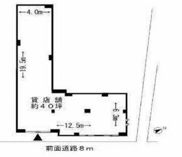 JR常磐線はじめ地下鉄・私鉄5線が乗り入れる北千住駅東口から徒歩3分、東京電機大学向かい側の車道に面した新築1階テナント