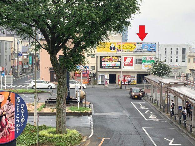 埼玉県鴻巣市本町/JR高崎線・鴻巣駅東口ロータリーに面した、1階がコンビニエンスストアの新築2~4階テナント